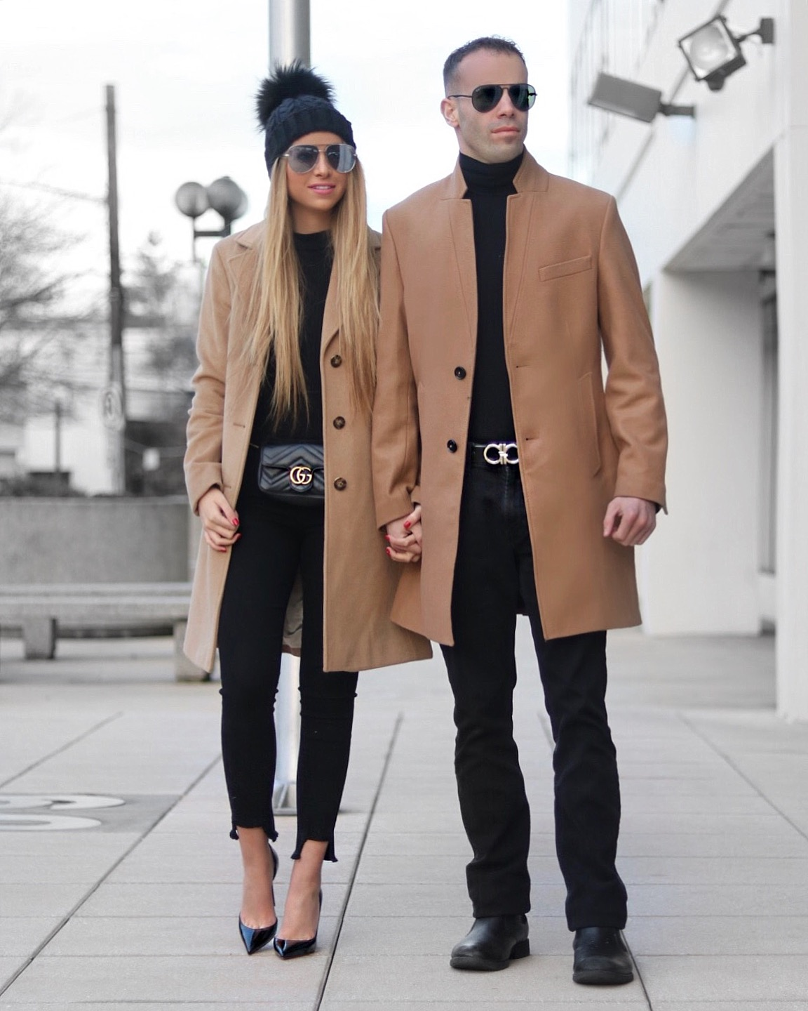 Couple fashion his hers